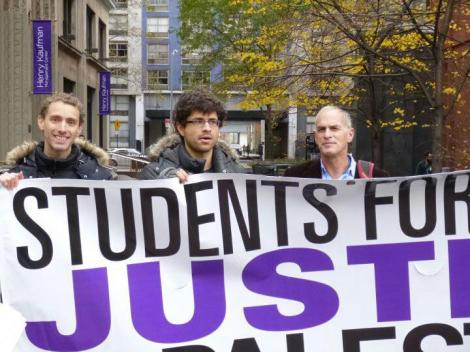 Norman Finkelstein Joins NYU SJP to Protest Attacks on Gaza