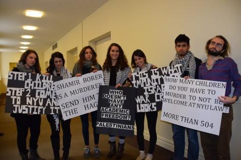 NYU Students Protest Israeli Atrocities