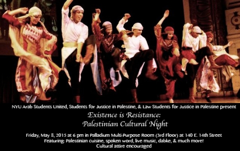Cultural Night Flyer